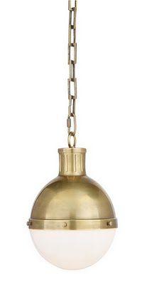 gold pendant lamp