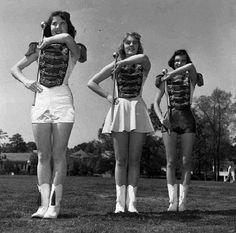 Majorettes - Love those hot pants and mini skirts!