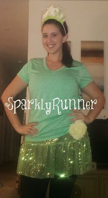 Sparkly Runner: How to Make a Tiana Inspired Leaf Crown