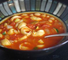 Tortellini & Vegetable Soup