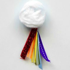 Adorable Rainbow n Cloud Magnet - would be cute for a bridging swap maybe?