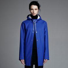 Stockholm Coboltblå – Stutterheim Raincoats
