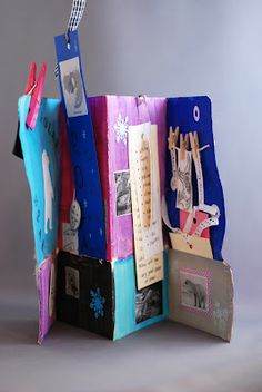 Finally an alternative to altered books that won't seem so overwhelming to 7th graders!  Poetry books?