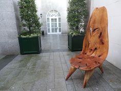 No. 4: Eoin Byrne, Michael Kelly. Storytelling Chair. Cedarwood. 200 x 71 x 115. €12,500.