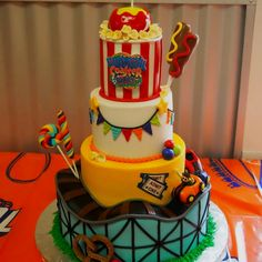 VBS Colossal Coaster World cake