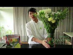 daily flowers 30-จัดดอกไม้แบบโปร่งๆ