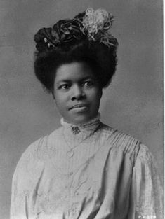 Nannie Helen Burroughs - educator, Church leader and suffragist. She founded the National Training School for Women and Girls in Washington, D.C. in 1909.