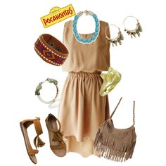 Pocahontas, created by marybethschultz on Polyvore