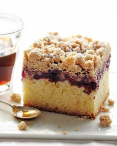 New York-Style Crumb Cake Recipe