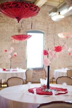 I like these centerpieces!