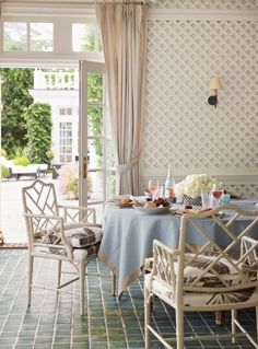 eclectic dining room by Suzanne McGrath Design