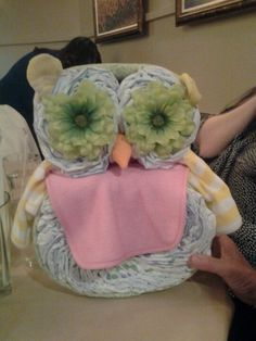 Baby shower owl..for my spare time