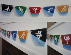 Free Printable: Winter Olympics Party Banner from DolledUpDesign