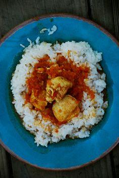 curry tomato chicken