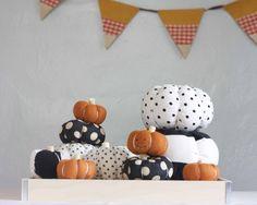 Stuffed Fabric Pumpkin Tutorial - The Alison Show