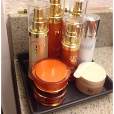 Arbonne RE9 skincare is the best!