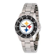 Pittsburgh Steelers Watches 'Coach' style watch http://pinterest.com/hamptoninnmonro/ #hamptoninnmonroeville http://www.facebook.com/#!/HamptonInnMonroeville #pittsburghhotel