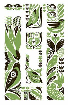 Folky Prints