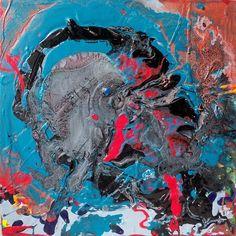Abstract Elephant by David K. Austin