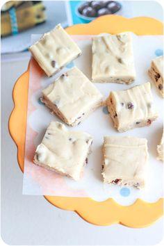 Chocolate Chip Cookie Dough Fudge via @sallysbakeblog