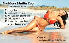 No More Muffin Tops 30 Minutes Routine
