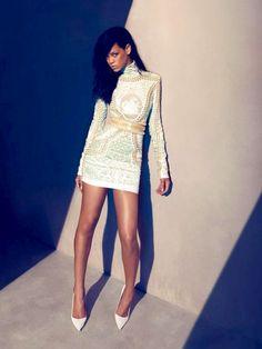 Rihanna editorial for Elle