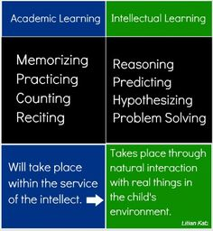 Academic vs Intellectual Learning
