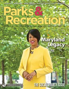 NRPA Parks & Recreation Magazine August 2014
