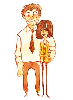 kaymurph:        otp week #5 - andy and april from parks and rec!