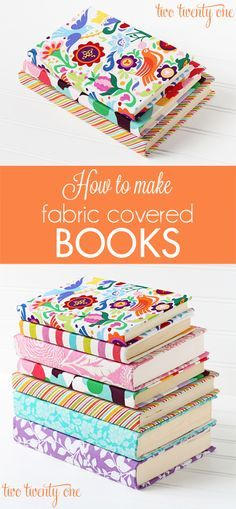 fabric book, cover books, diy crafts, crafti, gift ideas
