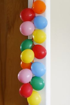 Birthday Decorations with Balloons