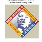 Designed by Chadwick Harvey, the free Martin Luther King Jr. Day of Service Around America Literacy Packet tells of how different communities and o...