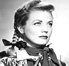 Gail Davies ...  Actor in western movies in 1940-50s; expert horse rider ....