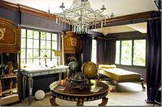 steampunk room, dream, steampunk interior, steam punk, steampunk decor