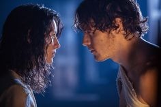 Two New 'Outlander' Official Photos Featuring Claire and Jamie