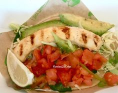 Baja Fresh Grilled Fish Taco – My Favorite!!!