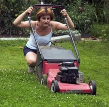 "You may ask yourself, ""who makes a better lawnmower than TORO?"" No one, that's who! And check it out, even the ladies trust them."