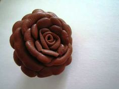 How To Make Leather Flower - YouTube