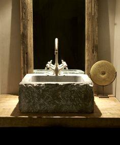 Badkamermeubel hout op maat