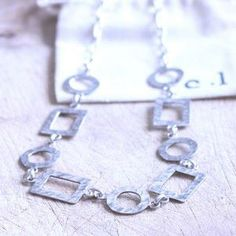 Sterling silver #handmade necklace #jewelry