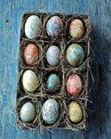 Marbleized Eggs