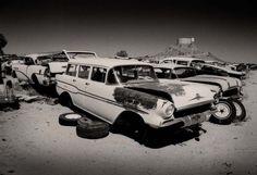 1957 Pontiac wagon print