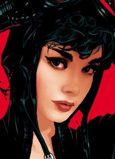 Adam Hughes' Catwoman.