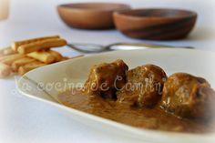 La cocina de Camilni: Carrillada ibérica en salsa