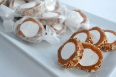 *Rook No. 17: recipes, crafts & whimsies for spreading joy*: How to Make Sea Salt Caramel Pecan Roll (Pecan Logs)