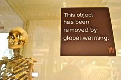 This object has been removed...  I've seen a bunch of these signs at the Harvard Museum of Natural History, and they're always entertaining, frequently thought provoking, and occasionally 'ouch' inducing, like this one.