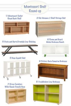 Montessori Style Shelf Round-Up | Hellobee