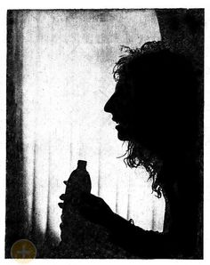 Great shot of Alice and his beer