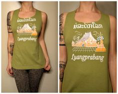 Making a tank top out of old t-shirts