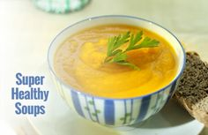 Did you know that soup can help suppress a raging appetite? Here are some of the best kinds to slurp! | via @SparkPeople #TeamSkinnyJeans #lunch #yum #nutrition